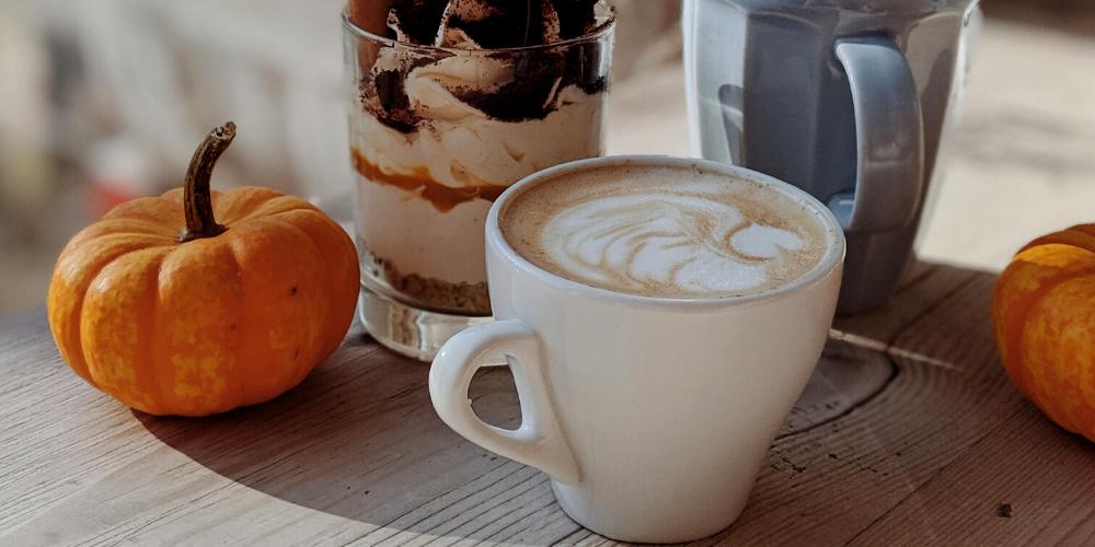 A Photo Of Pumpkin Hot Chocolate