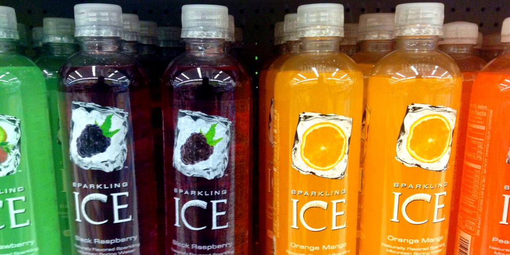 Different Flavors Of Sparkling Ice Drink