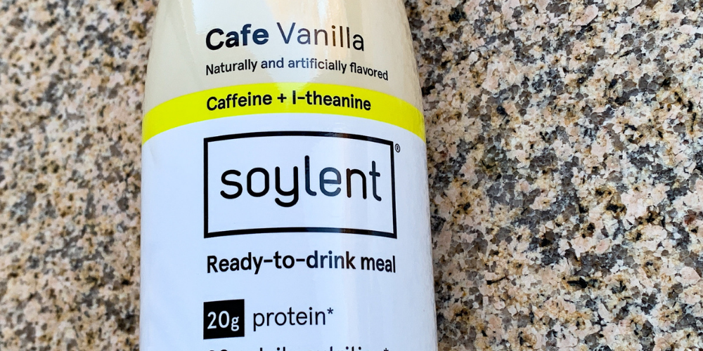 A Photo Of Soylent Drink