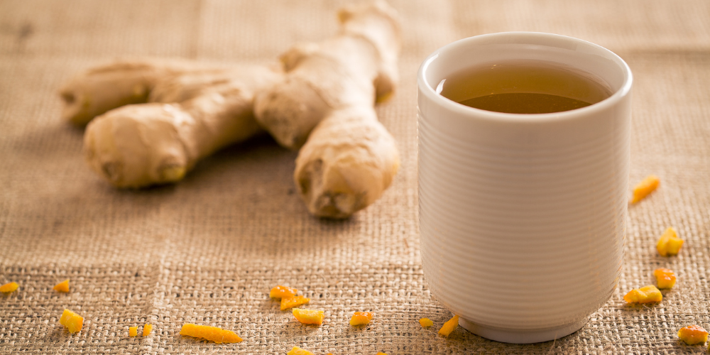 A Photo Of Ginger Tea