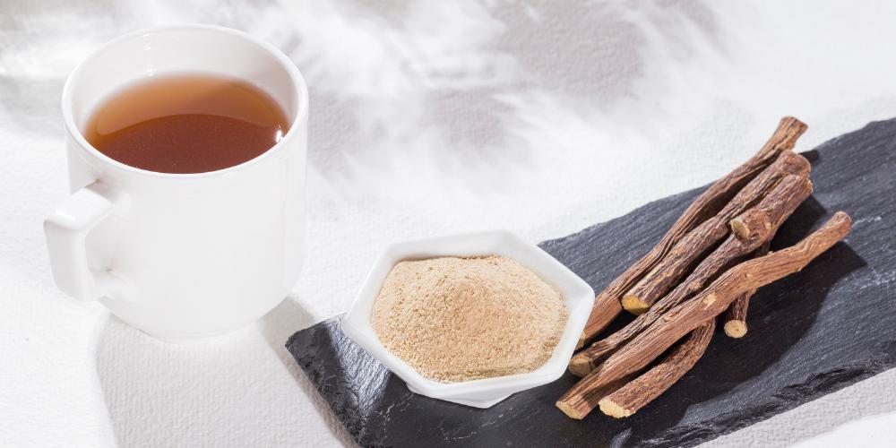 A Photo Of Licorice Root Tea