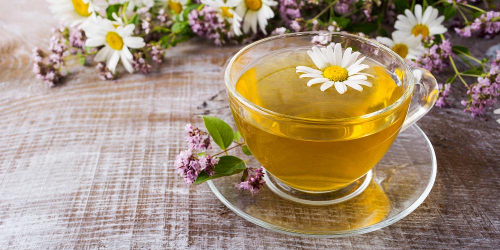 A Photo Of Chamomile Tea