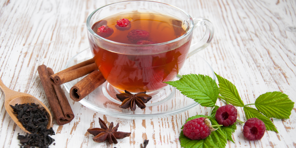 A Photo Of Raspberry Leaf Tea