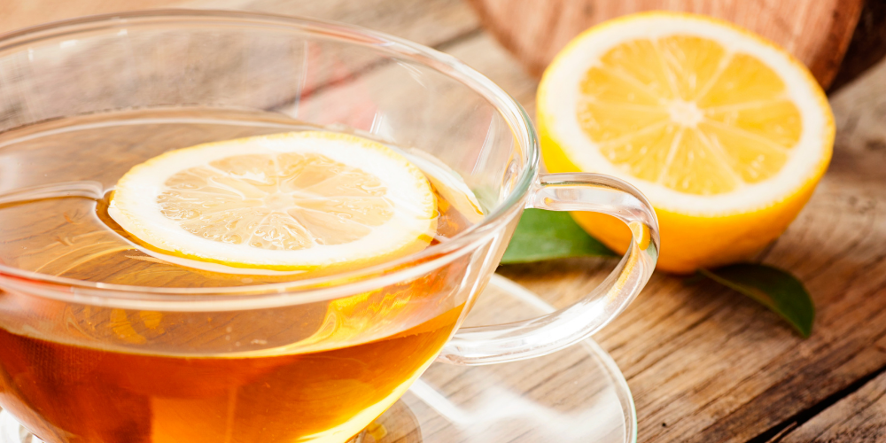 A Photo Of Lemon Tea