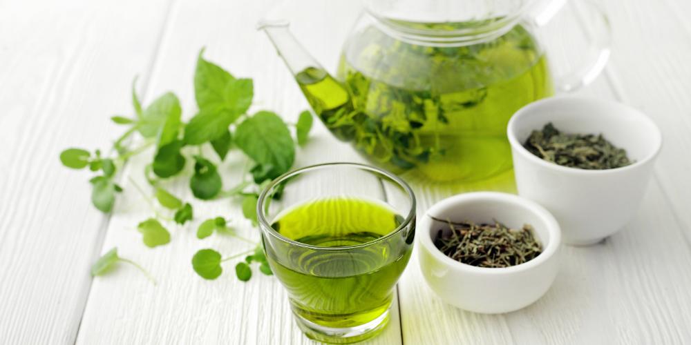 A Photo Of Green Tea