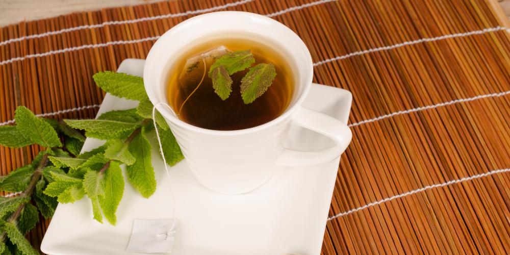 A Photo Of Spearmint Tea