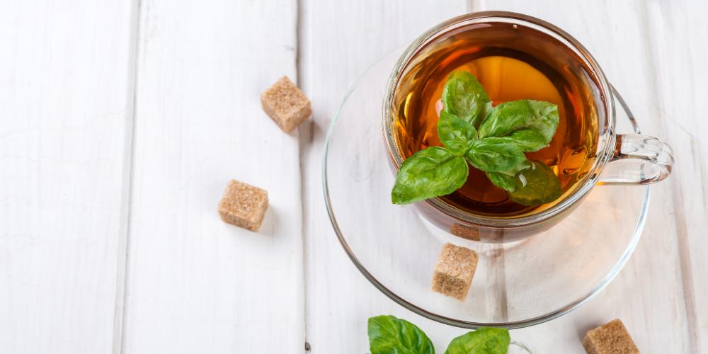 A Photo Of Holy Basil Tea