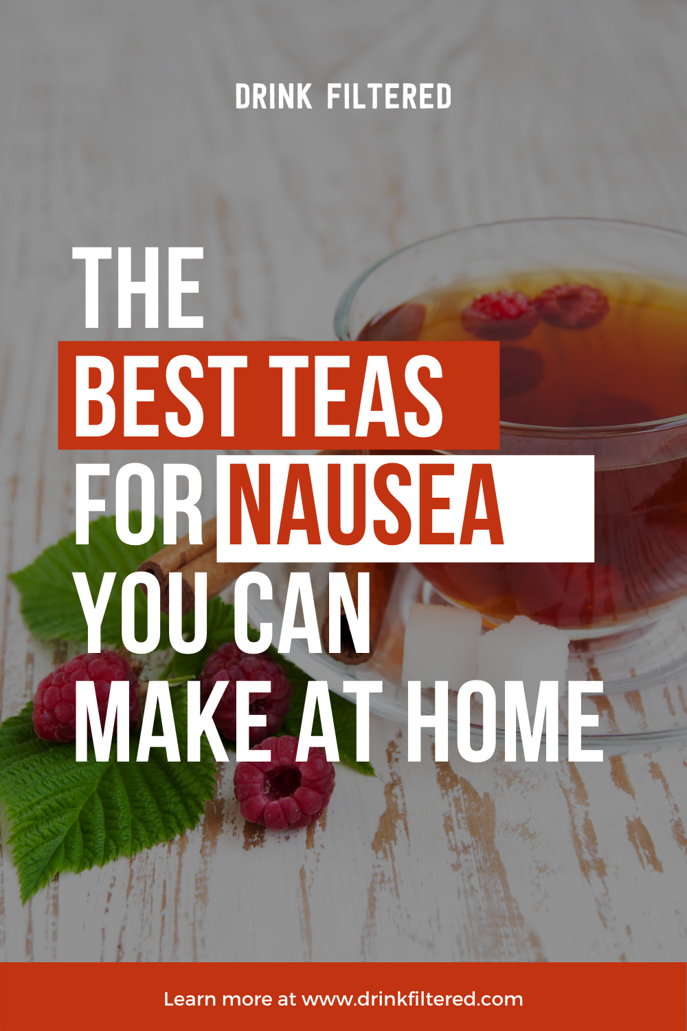 the 10 best teas for nausea that you can make at home