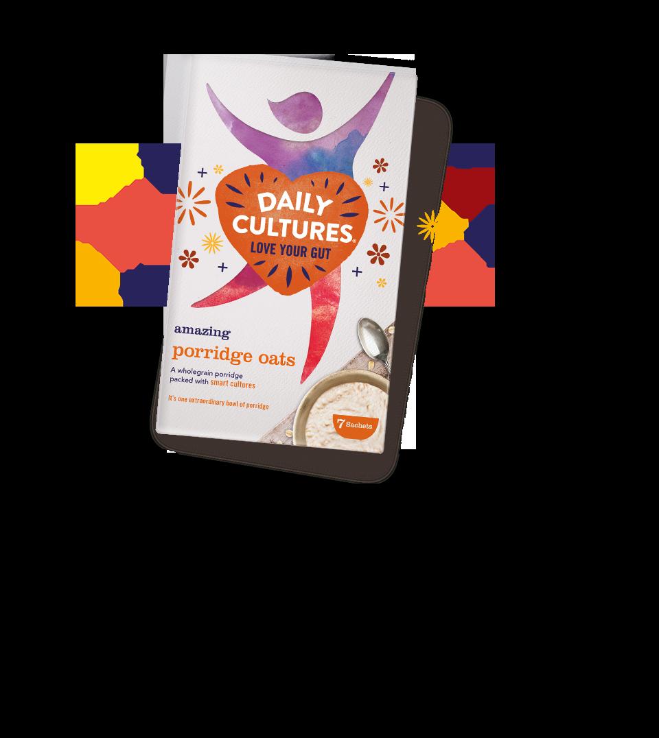 Daily Culture porridge container