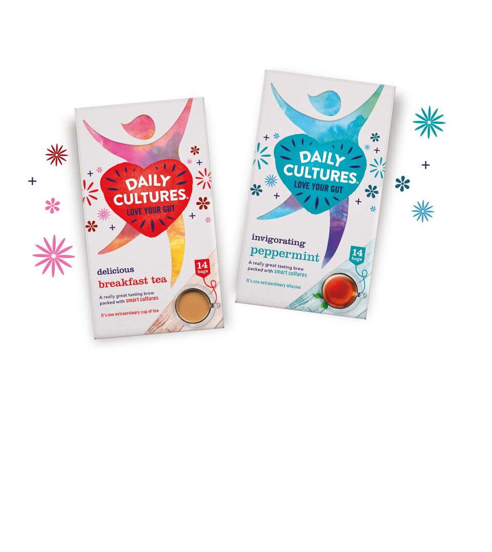 Daily Cultures tea packaging