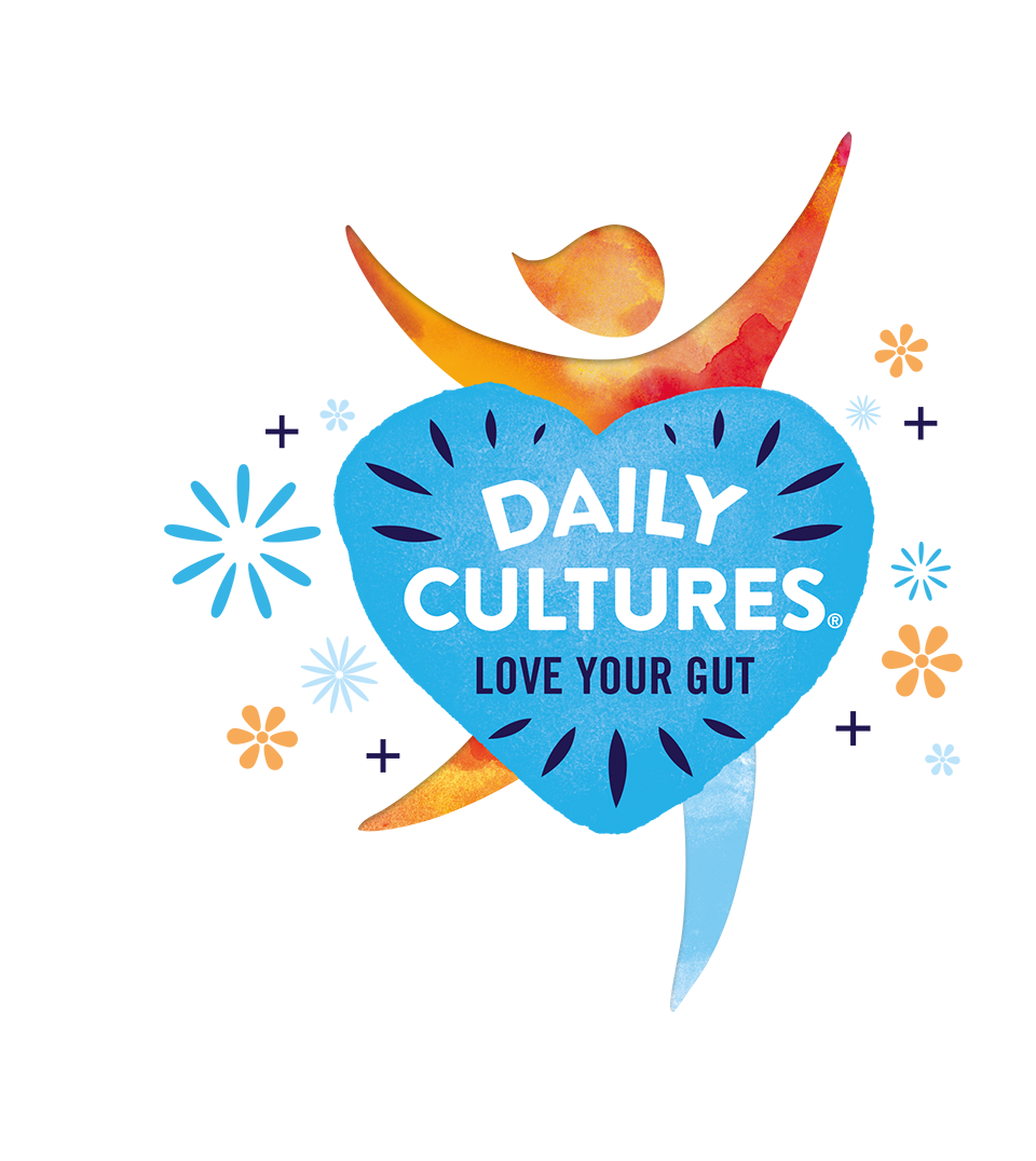 Daily Cultures logo yellow