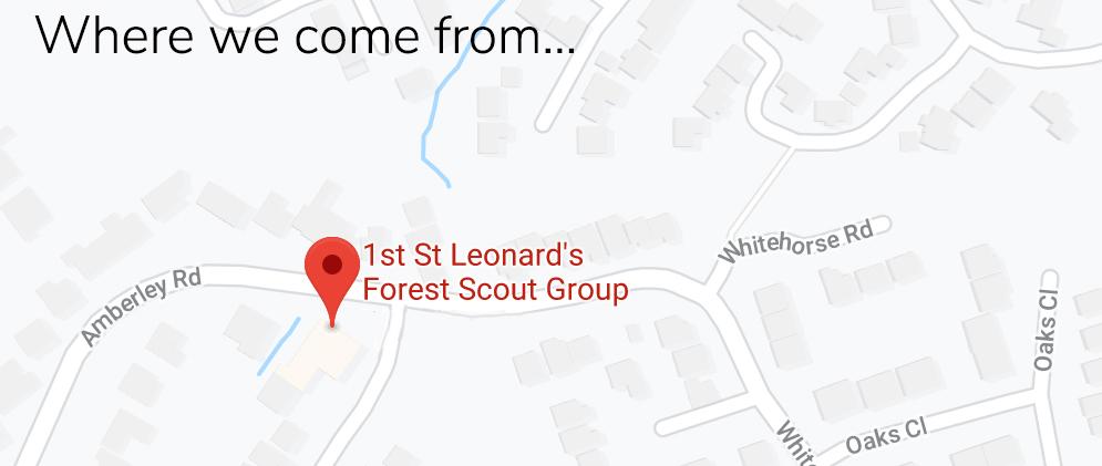 Google maps location of SLF HQ