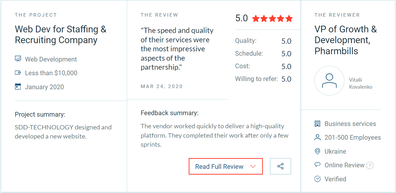 Pharmbills customer review