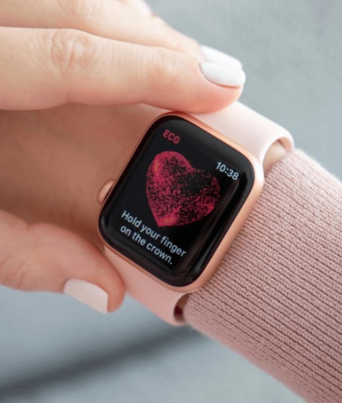 контроль здоровья Apple Watch