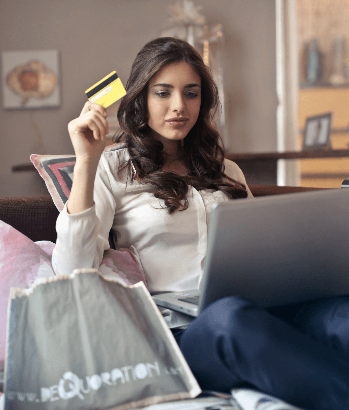 online shopping in the online store