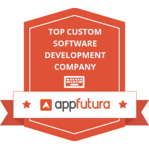 Appfutura Badge, top custom software development company