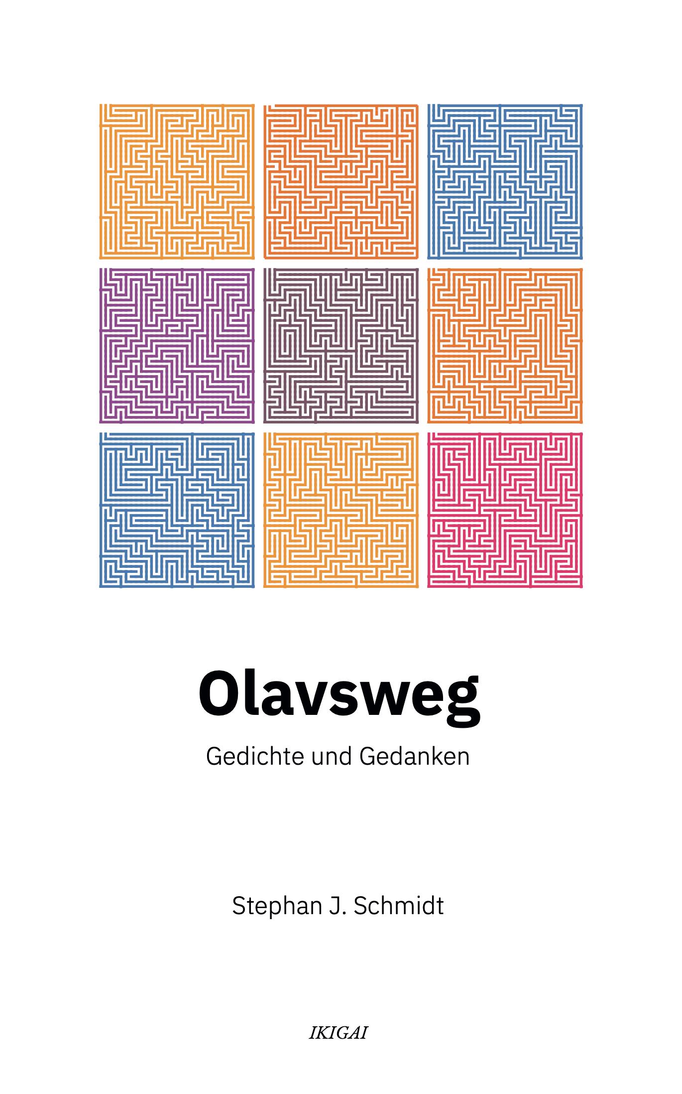 Olafsweg Gedichte und Lyrik Buch