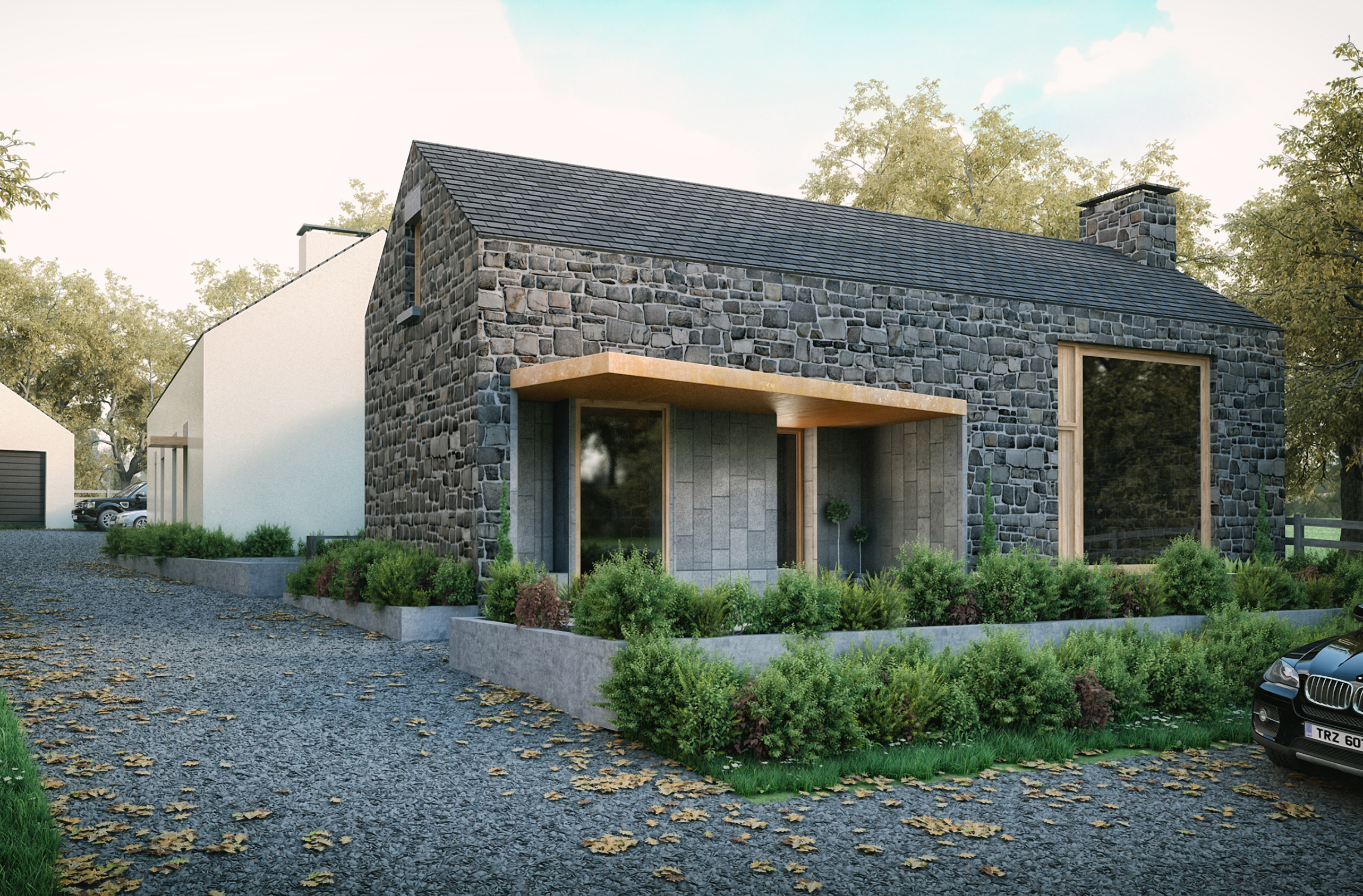 Carn House featured in Living Design Magazine