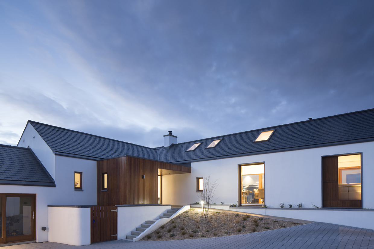Carnlough House Finalist in Building & Architect of the Year Award 2018