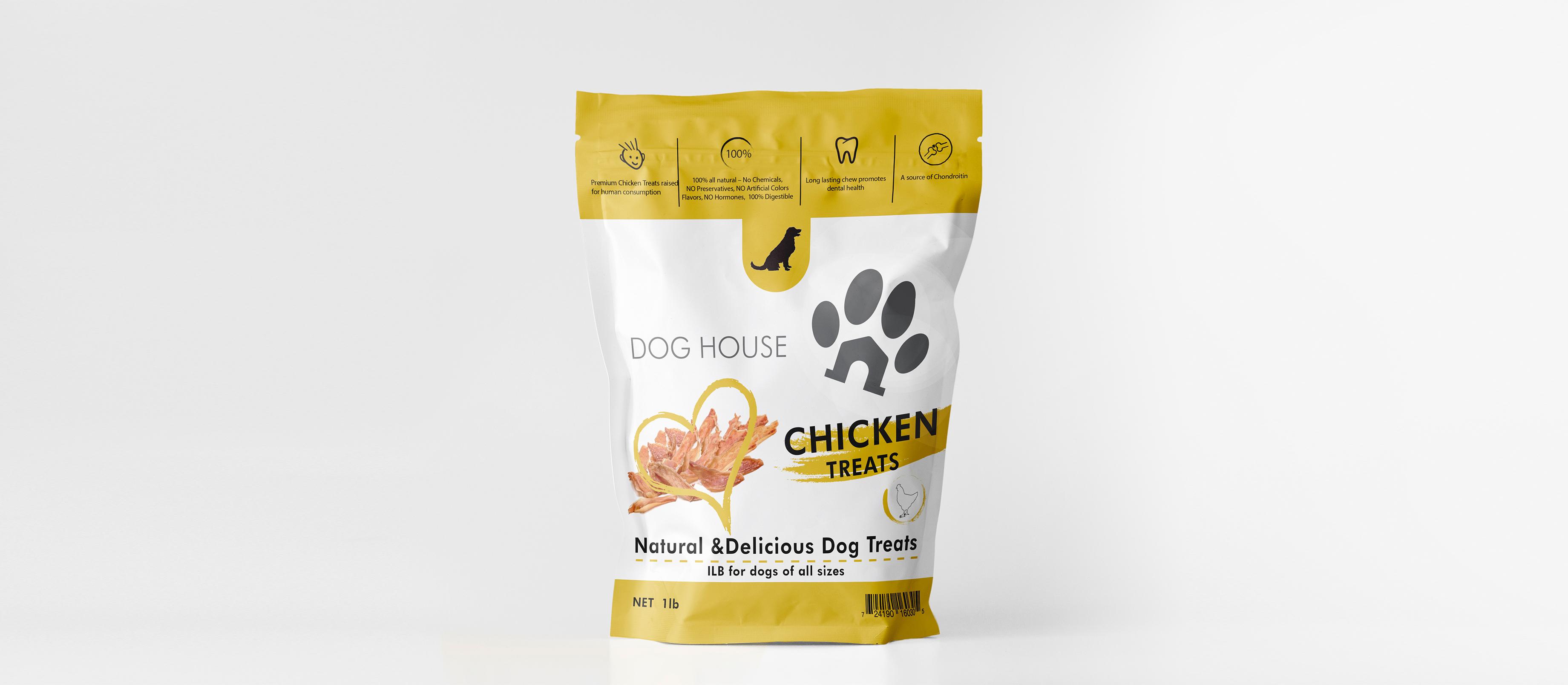 Food for dogs identity design, web design , logo, business cards, https://www.behance.net/andonov