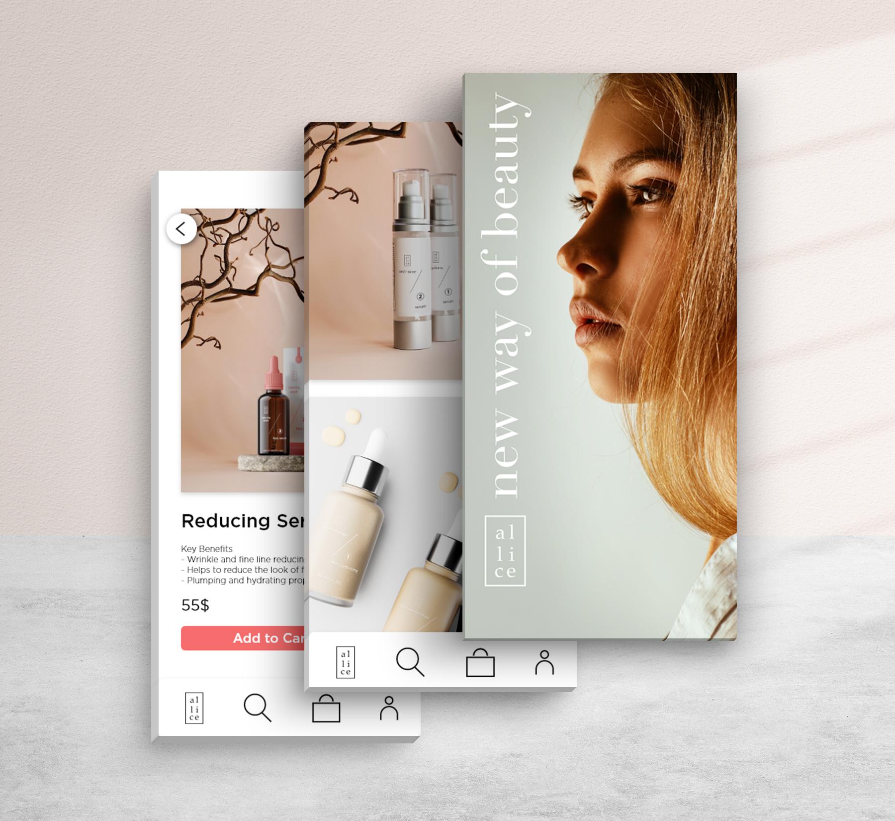 e commerce mobile app