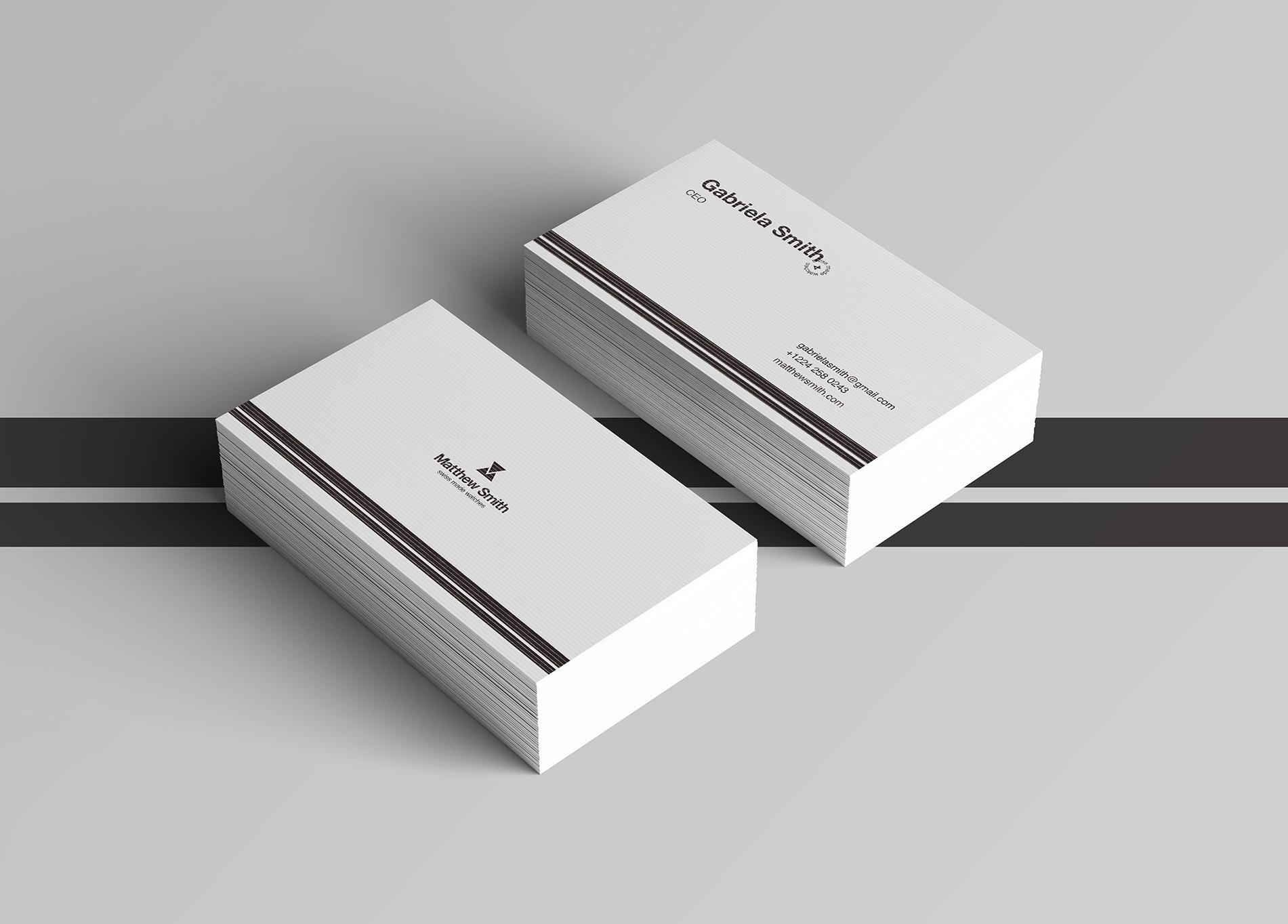 Matthew Smith watches business card design  https://dribbble.com/Andonov-Design