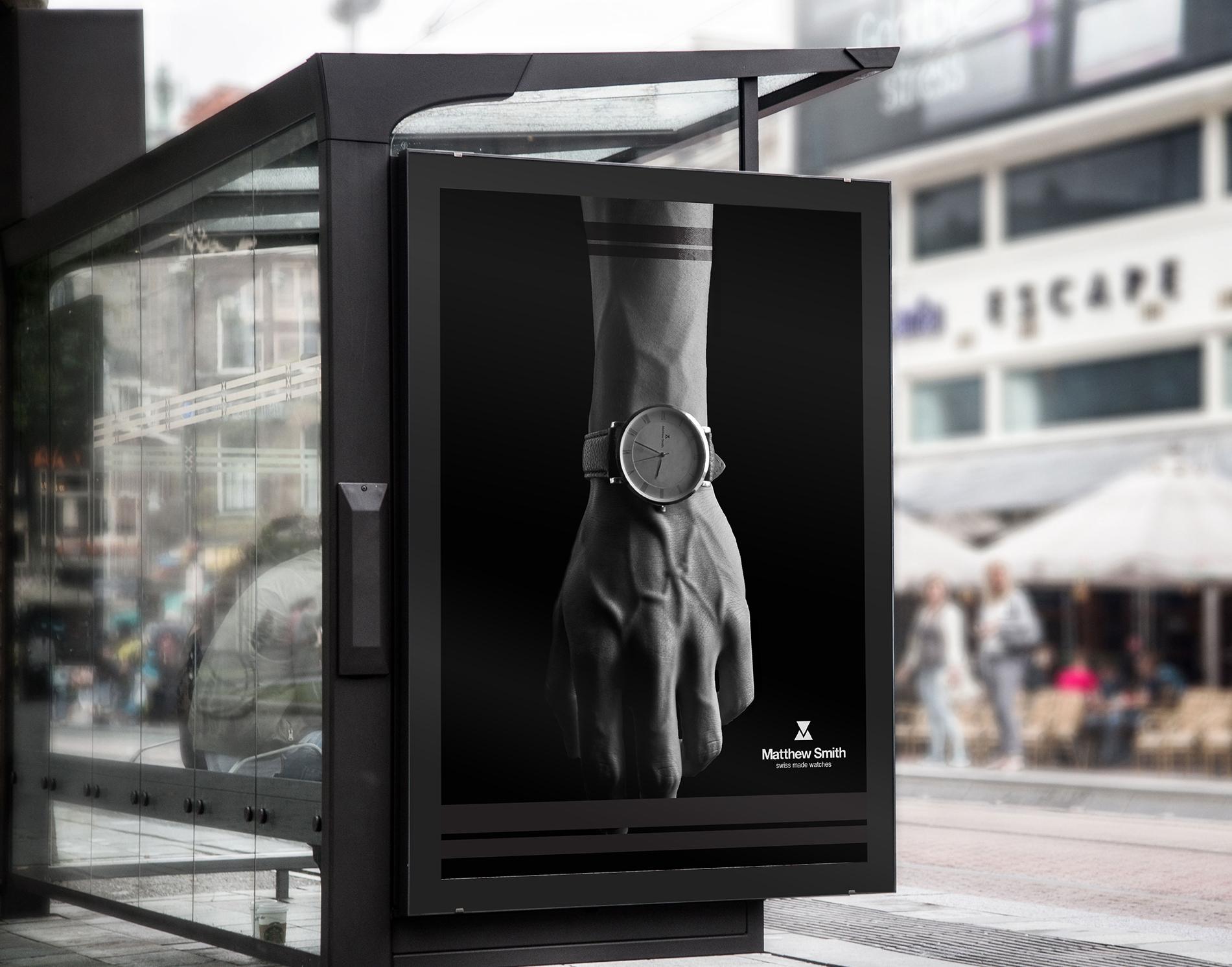 Poster design for Watch brand  https://www.linkedin.com/in/martin-andonov-445148163/
