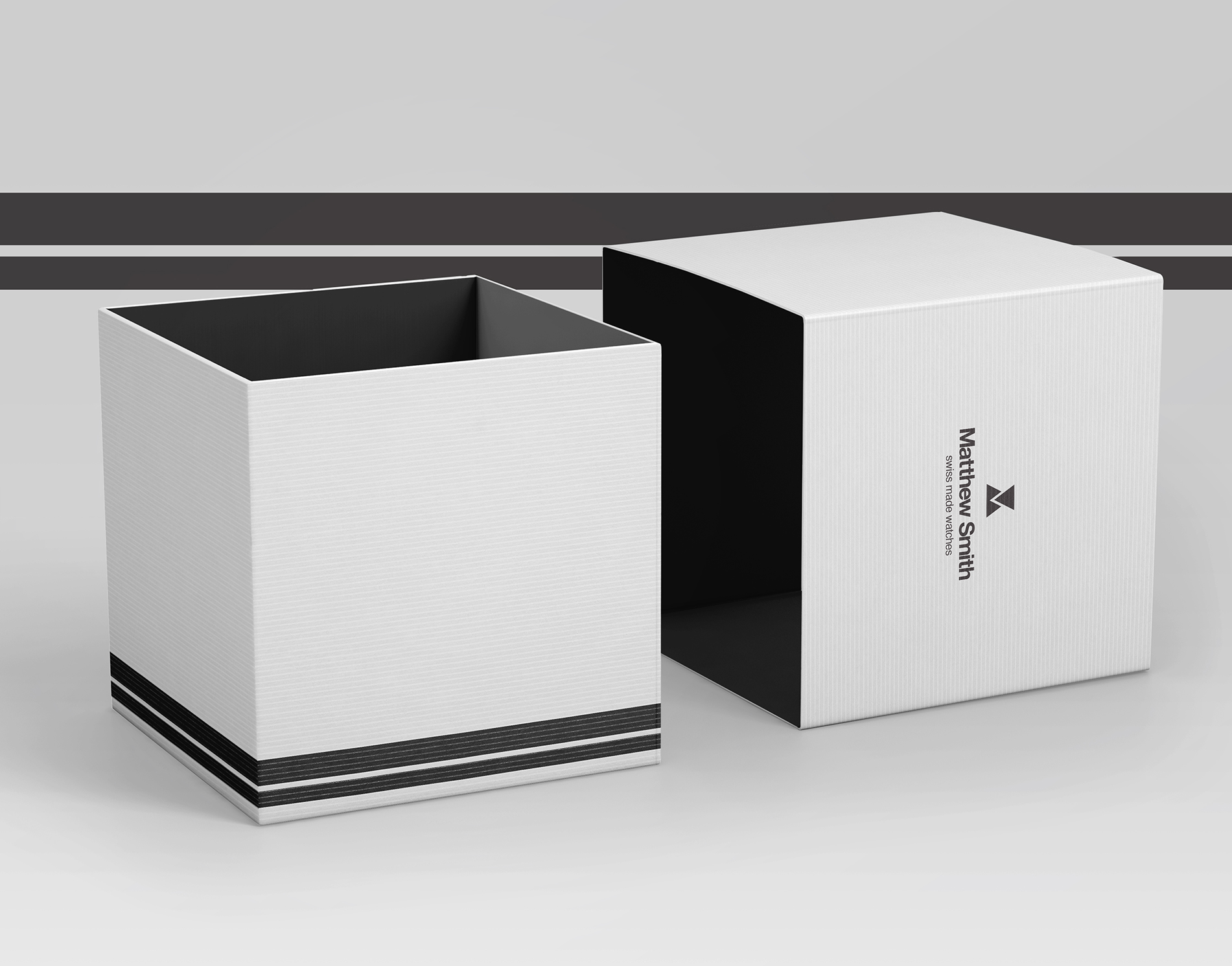 Watch packaging design Matthew Smith