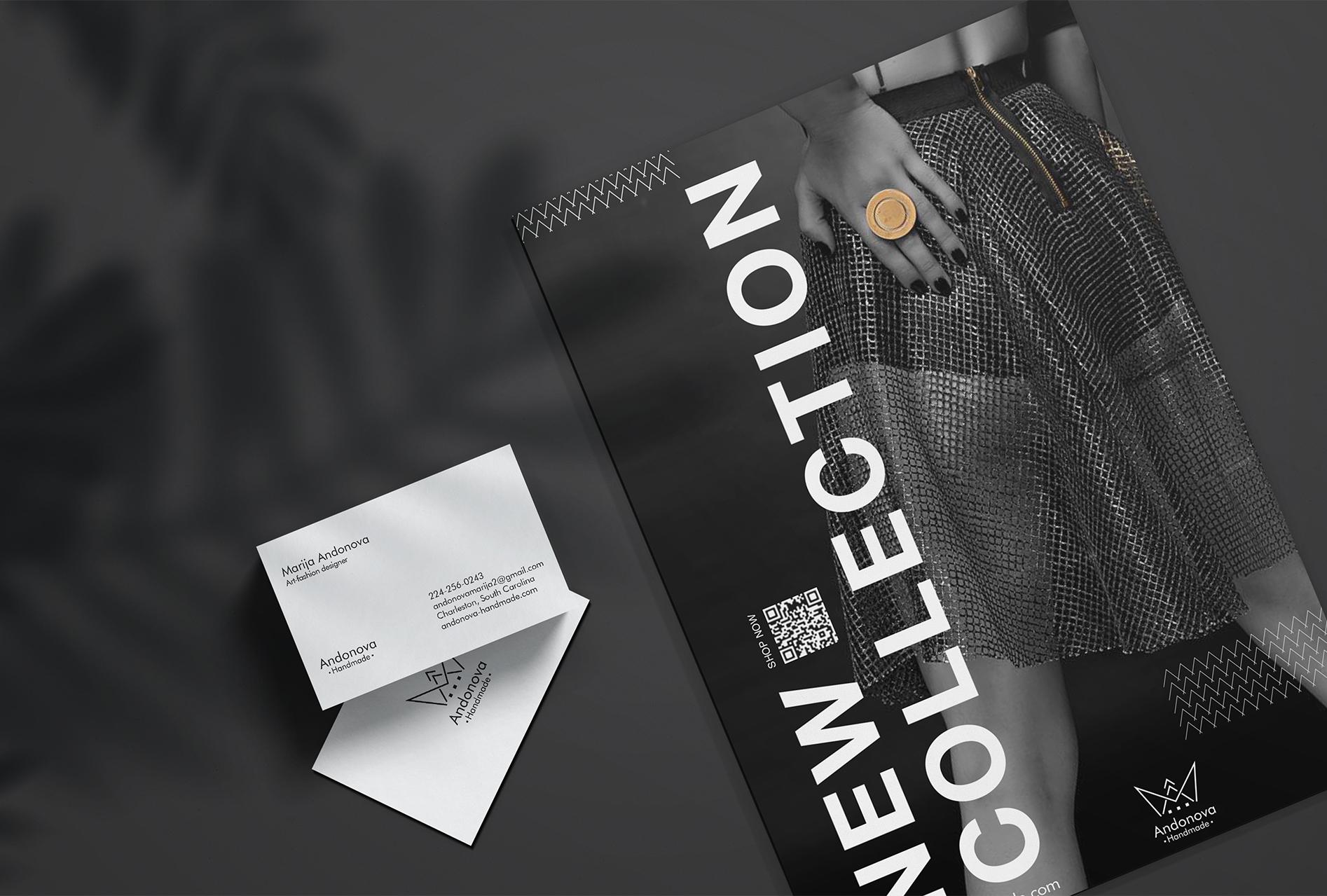 Fashion magazine design