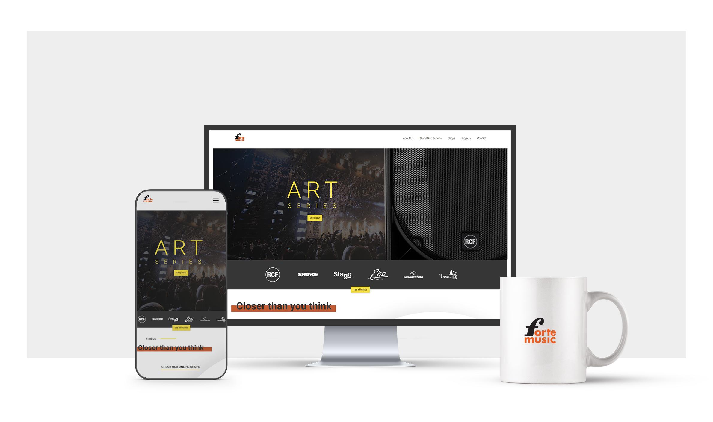 Web design  https://fortebg.com/