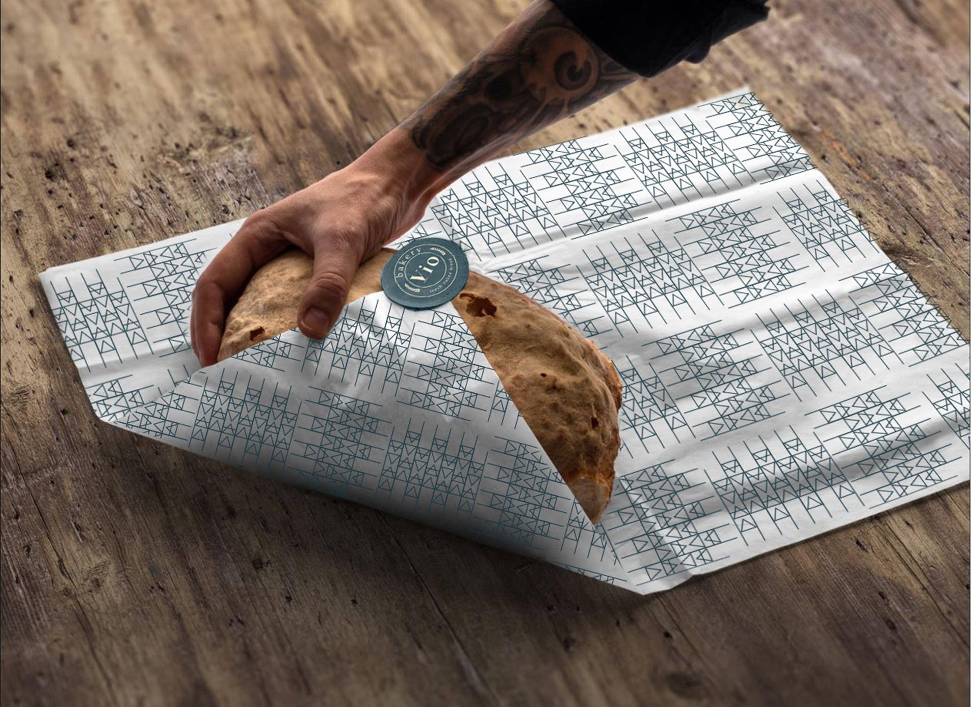 Bakery packaging design