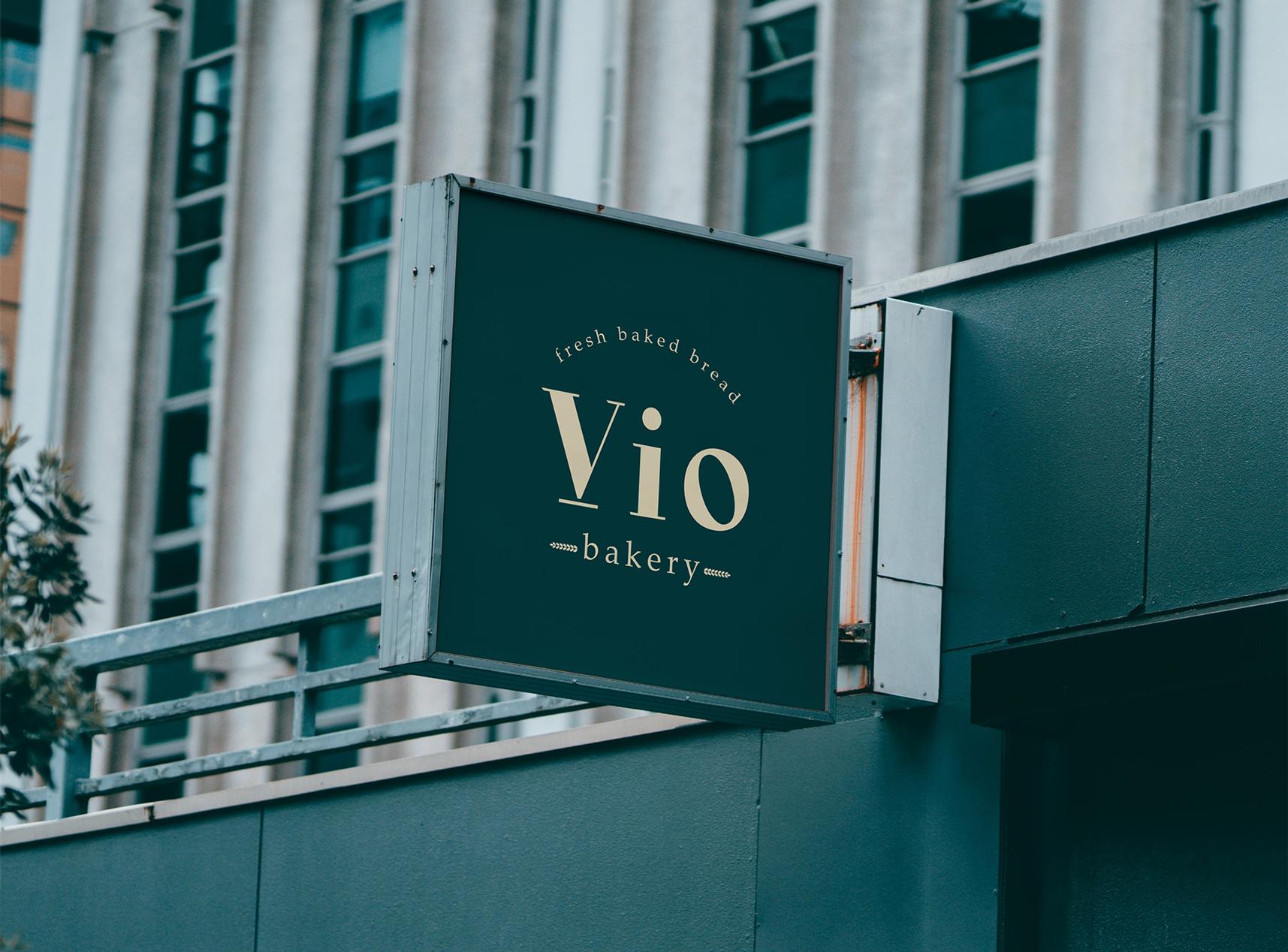 Vio bakery logo design  https://www.behance.net/andonov
