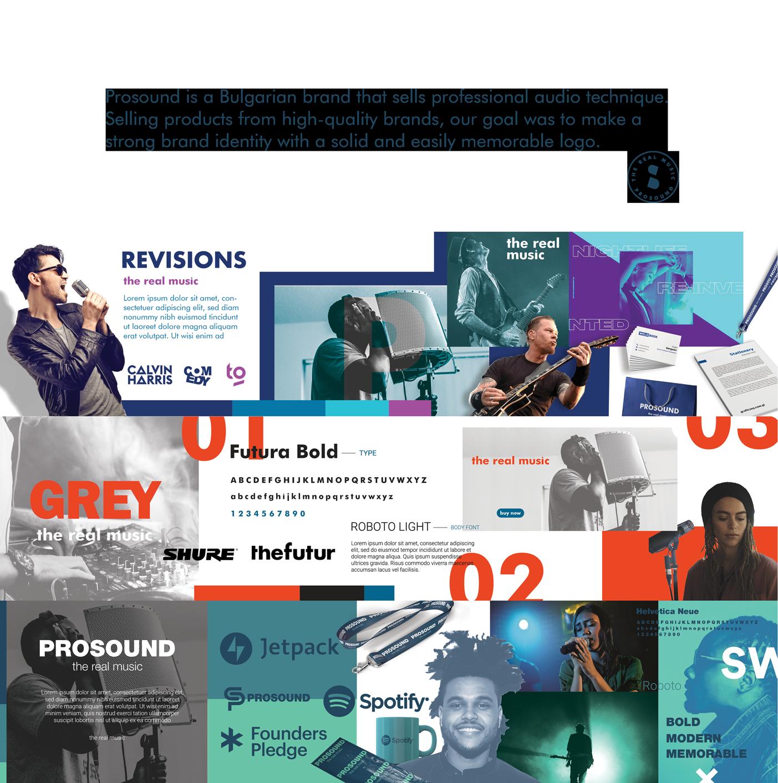 music brand prosound stylescape