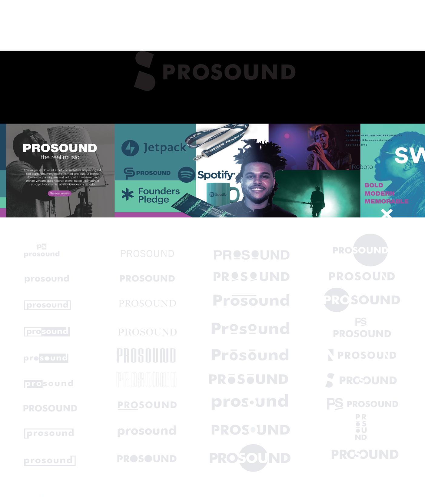 Logo for music shop https://www.prosound.bg/