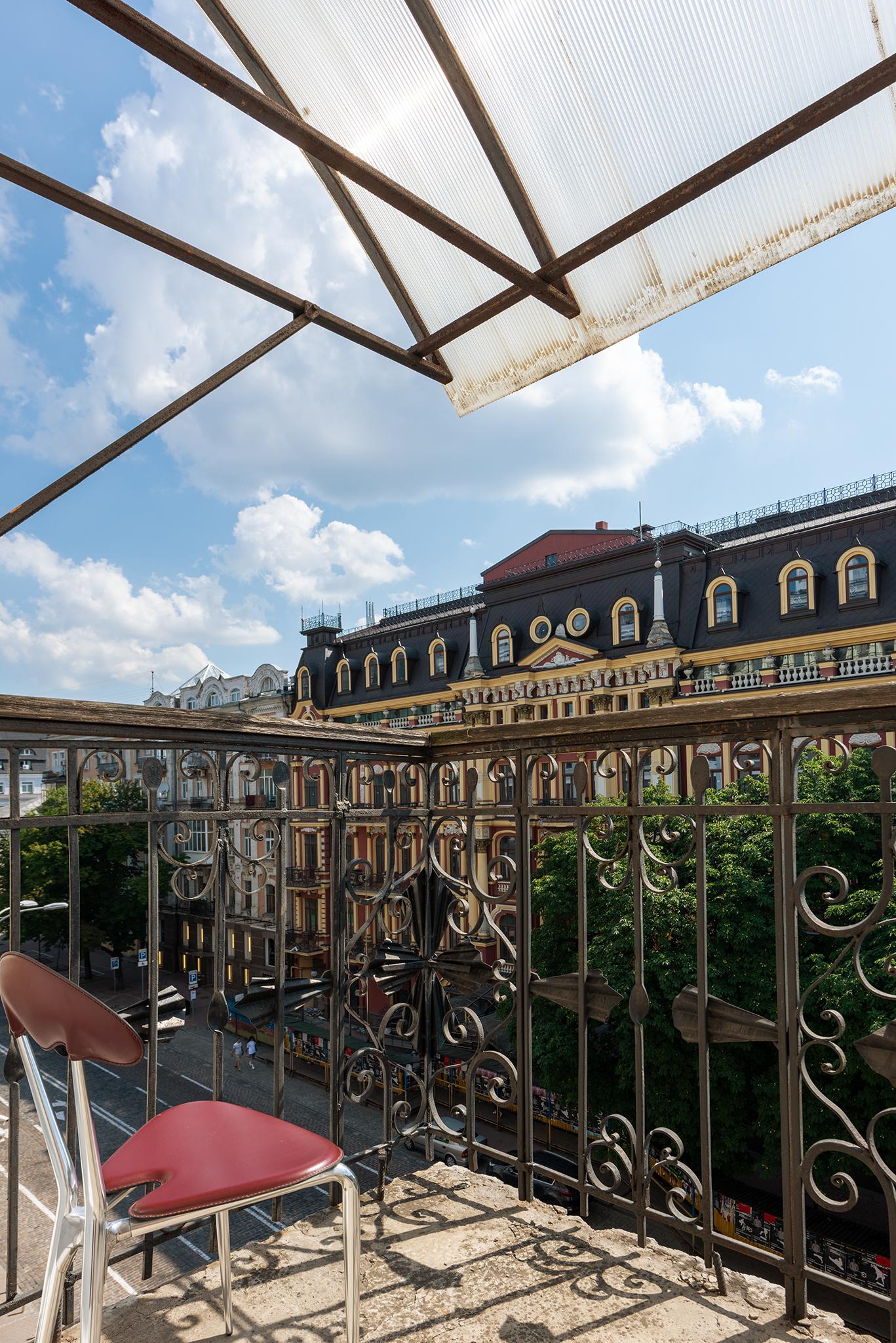 Investissement Immobilier Kiev, Ukraine - Balcon