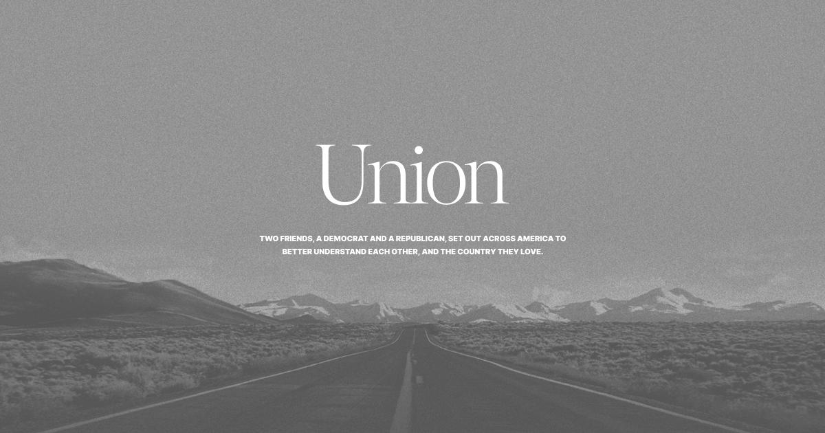 Union   Jordan Blashek & Christopher Haugh