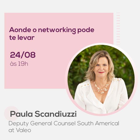 Paula Scandiuzzi, no Mulheres no Comando