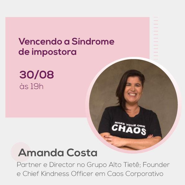 Amanda Costa, no Mulheres no Comando