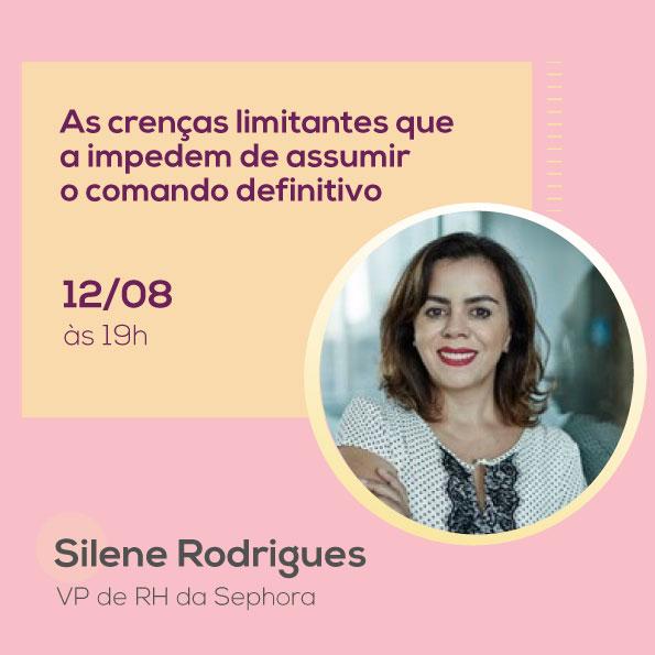 Silene Rodrigues, no Mulheres no Comando