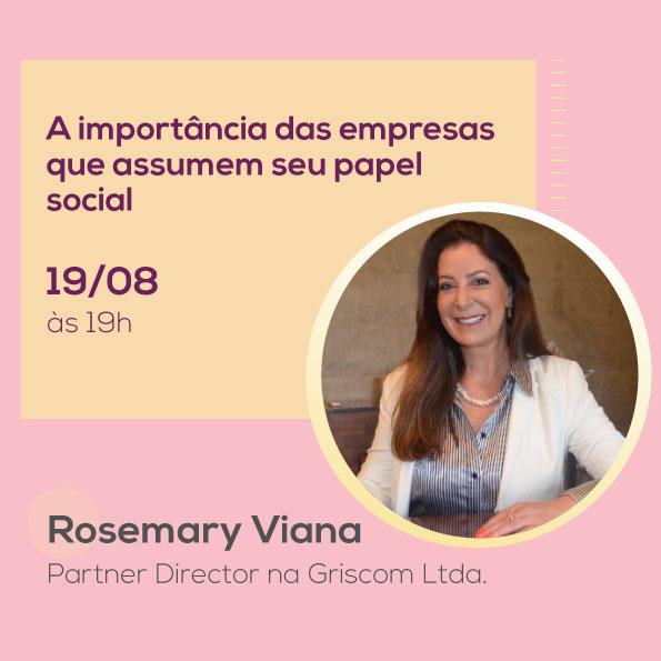 Rosemery Viana, no Mulheres no Comando
