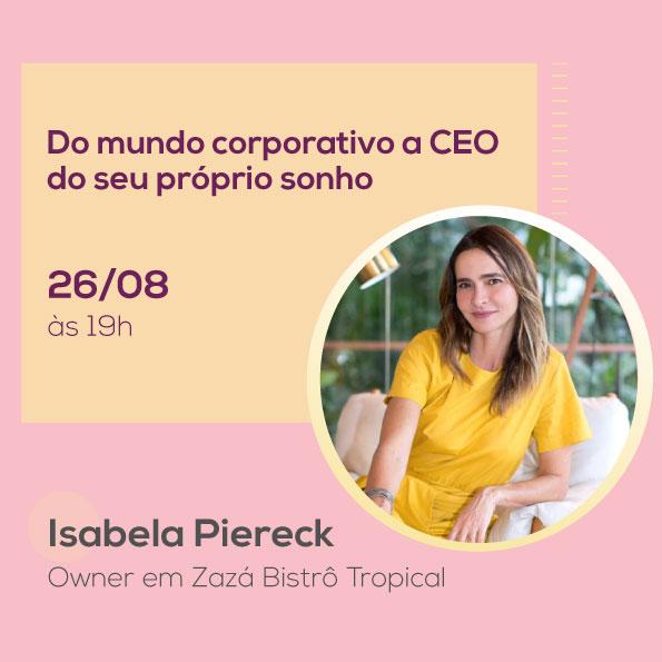 Isabela Piereck, no Mulheres no Comando
