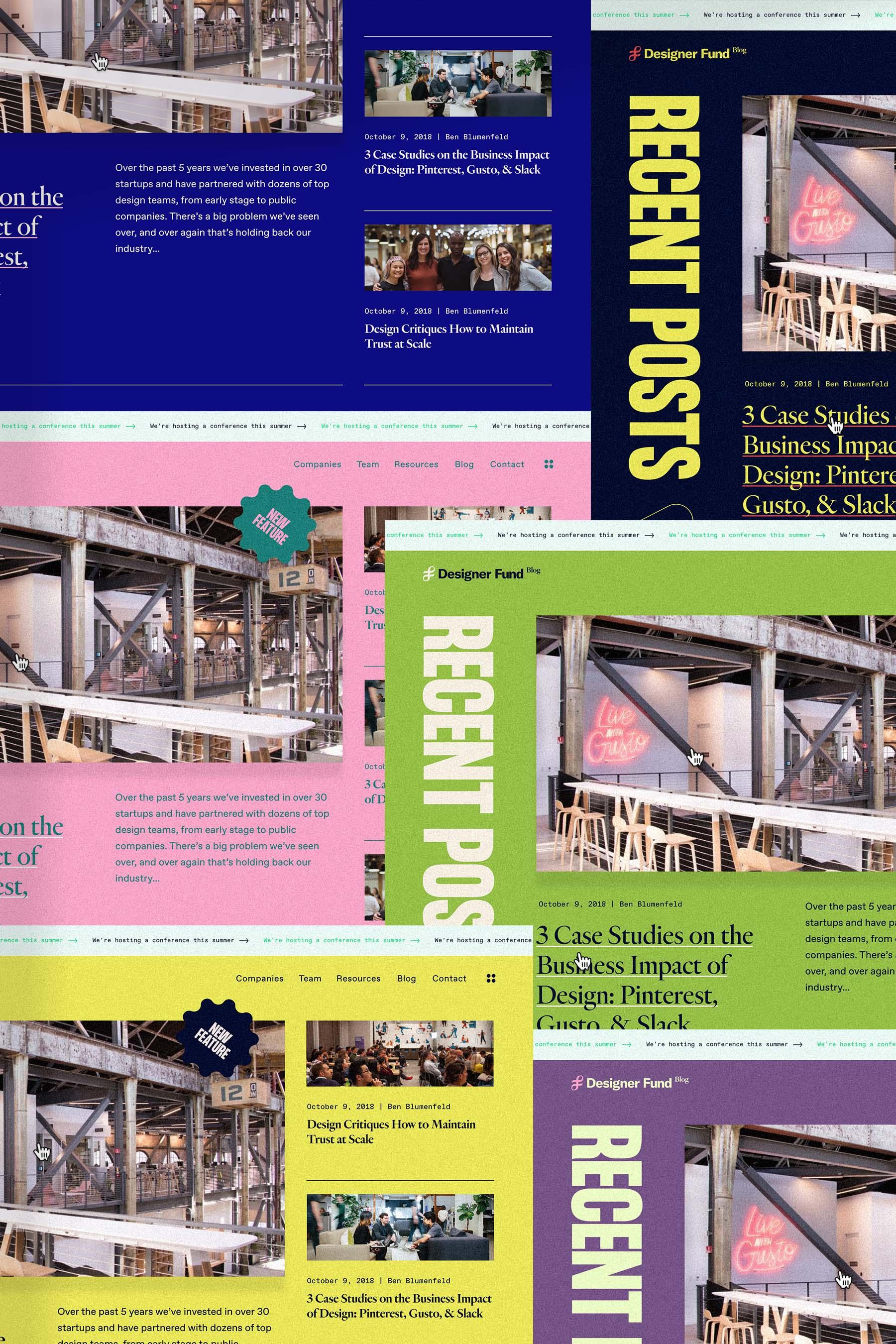 DF blog design.
