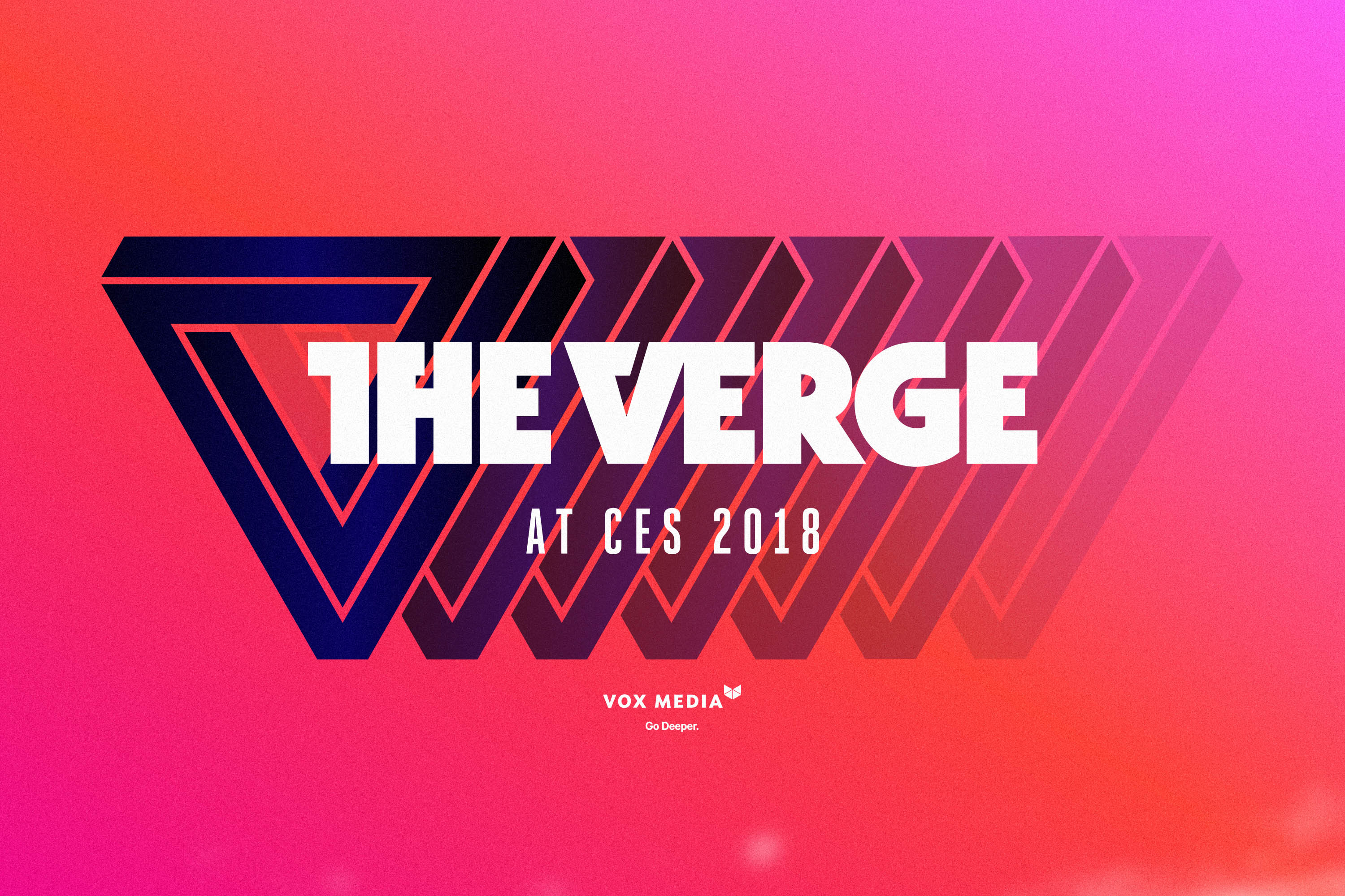 The Verge at CES 2018 lock-up.