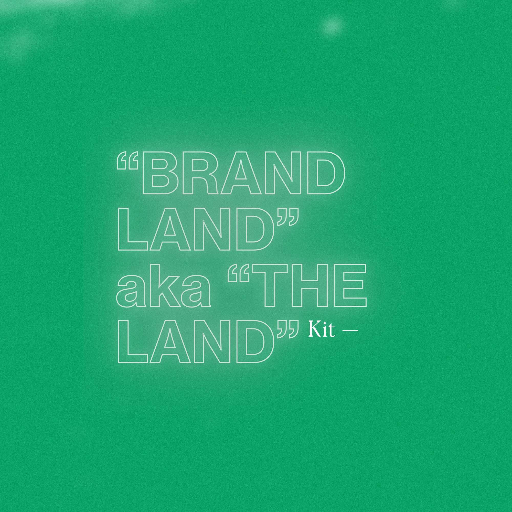 Brandland kit lock-up.