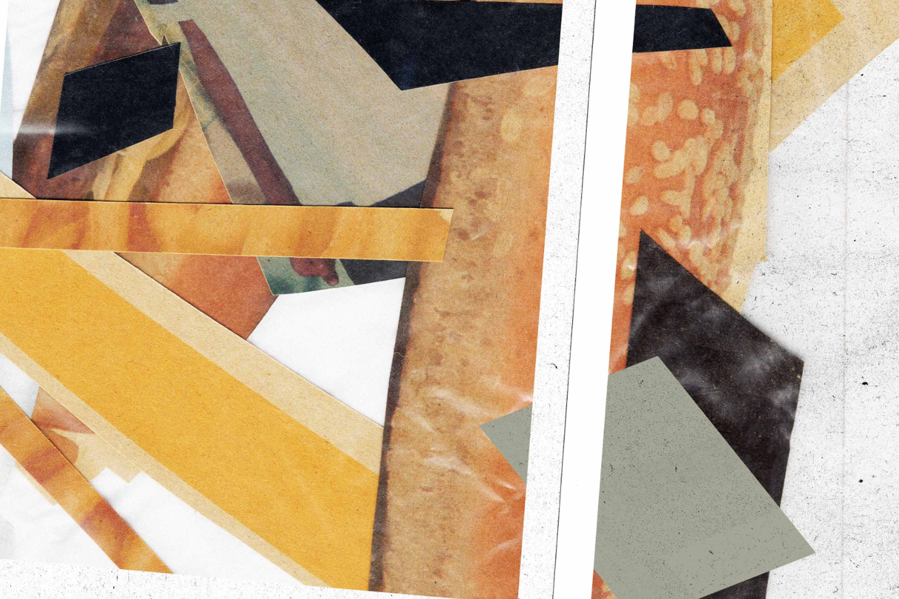 Collage detail.