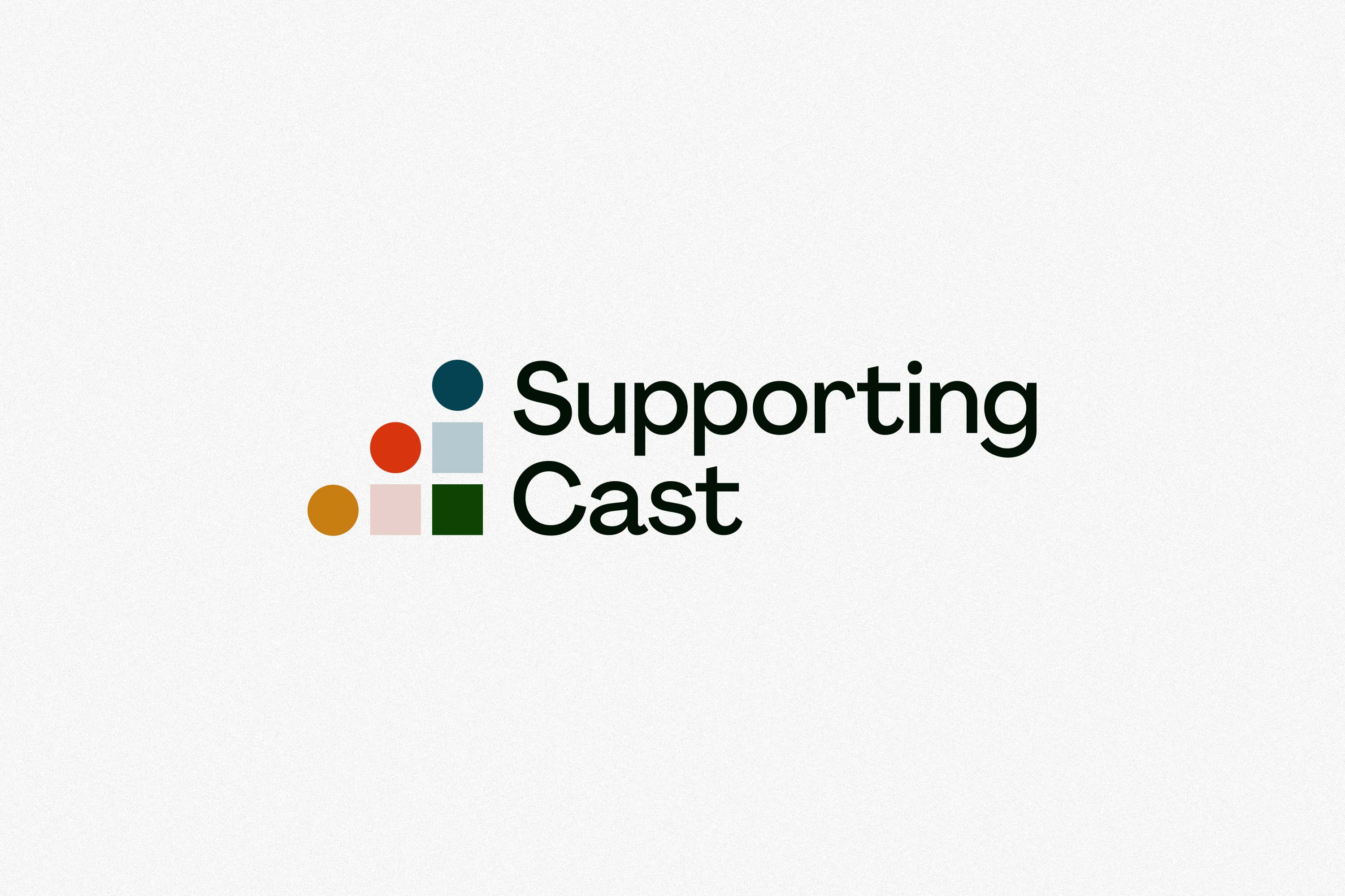 Supporting Cast logo.