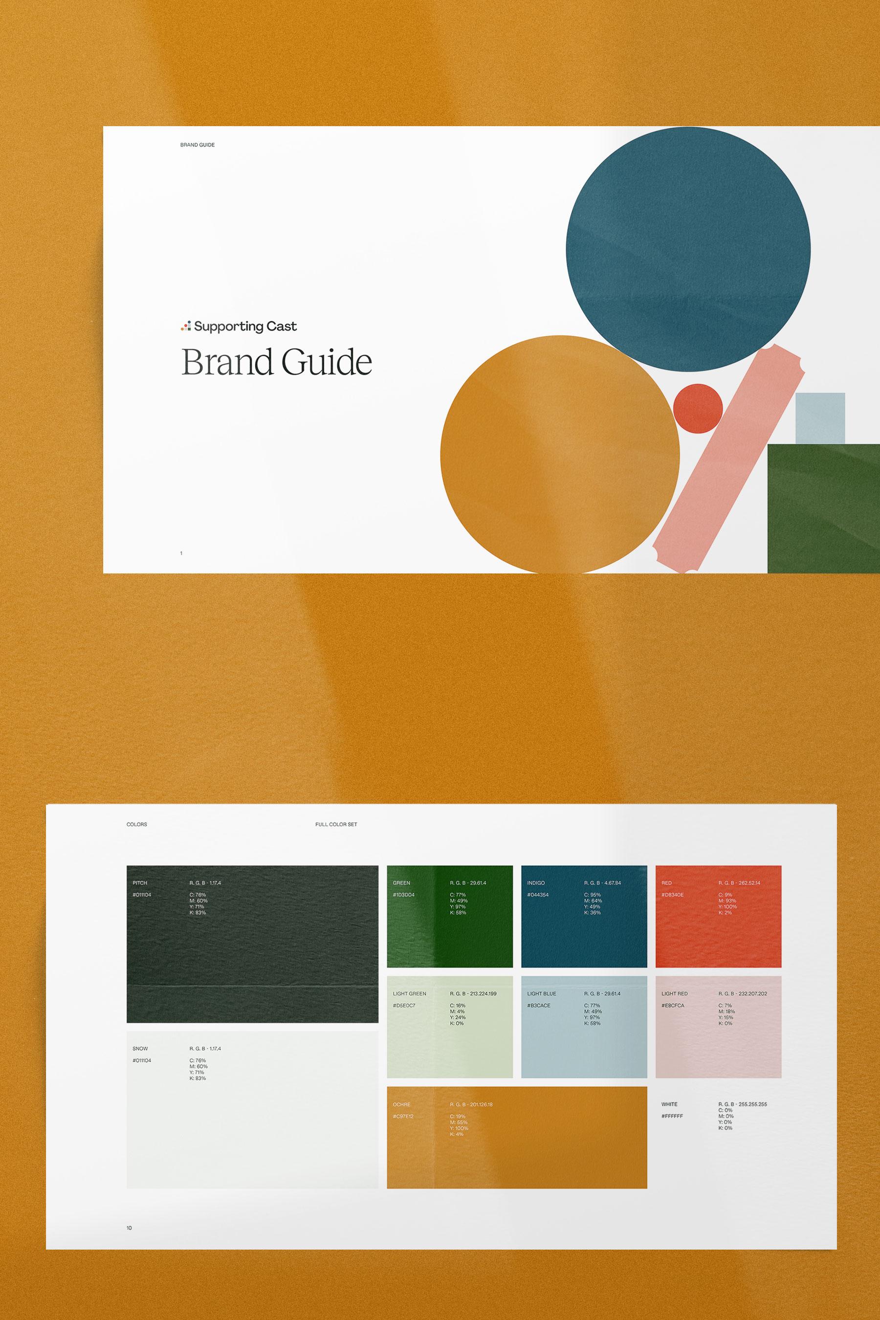 Brand guide.