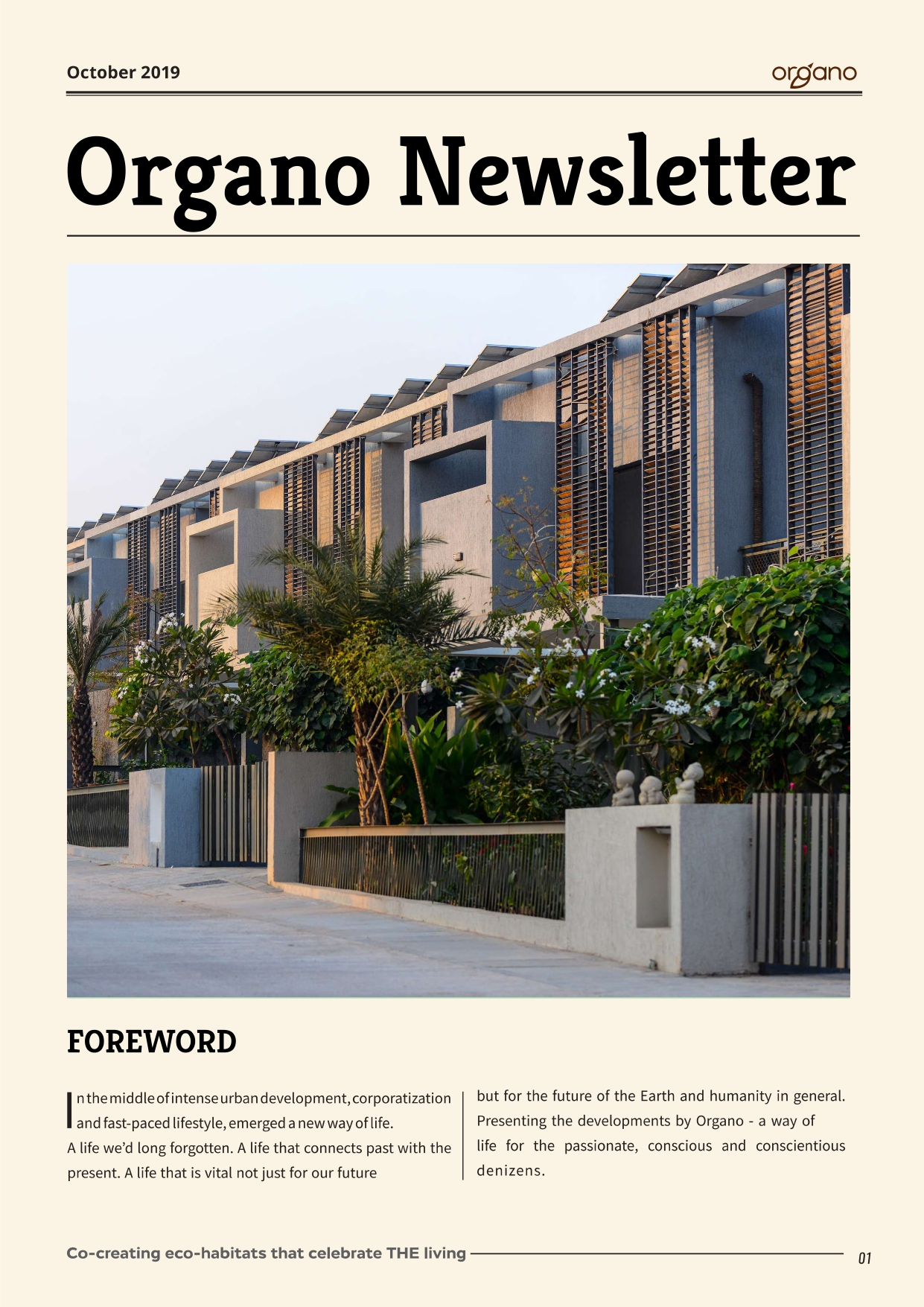 Organo newsletters