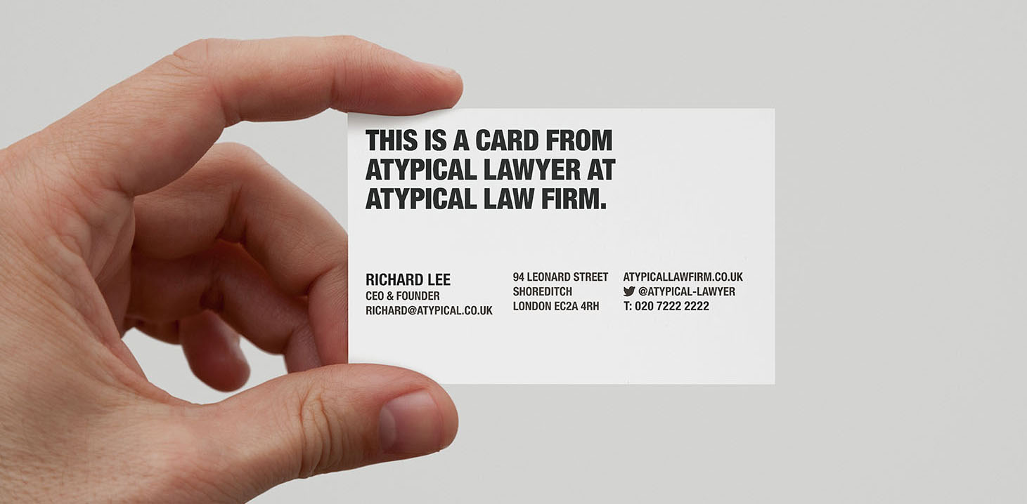 Disruptive law firm brand