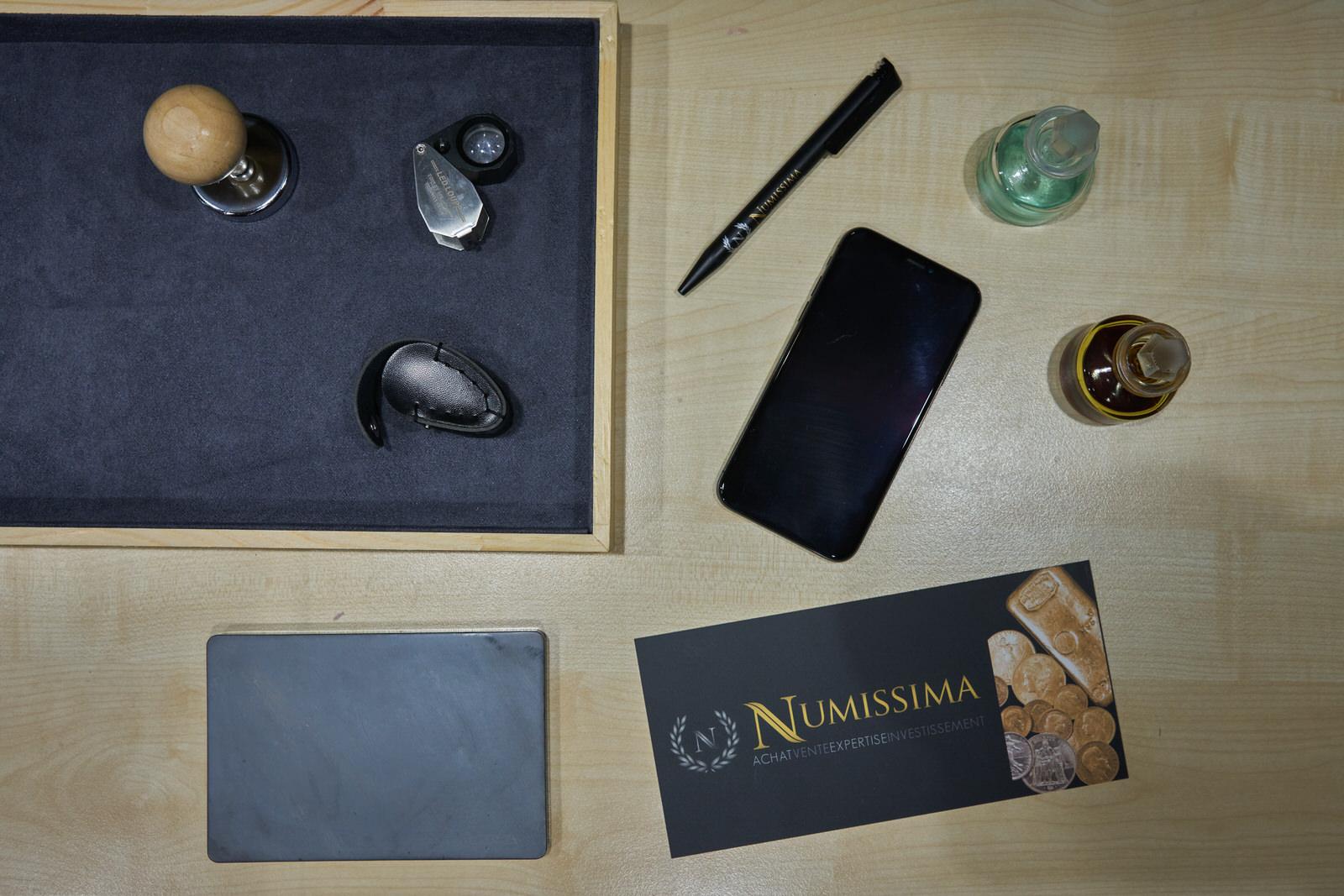 Faire estimer son or par Numissima à Angoulême et Bordeaux